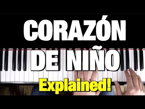 CORAZON DE NIÑO - PIANO TUTORIAL - RAUL DI BLASIO