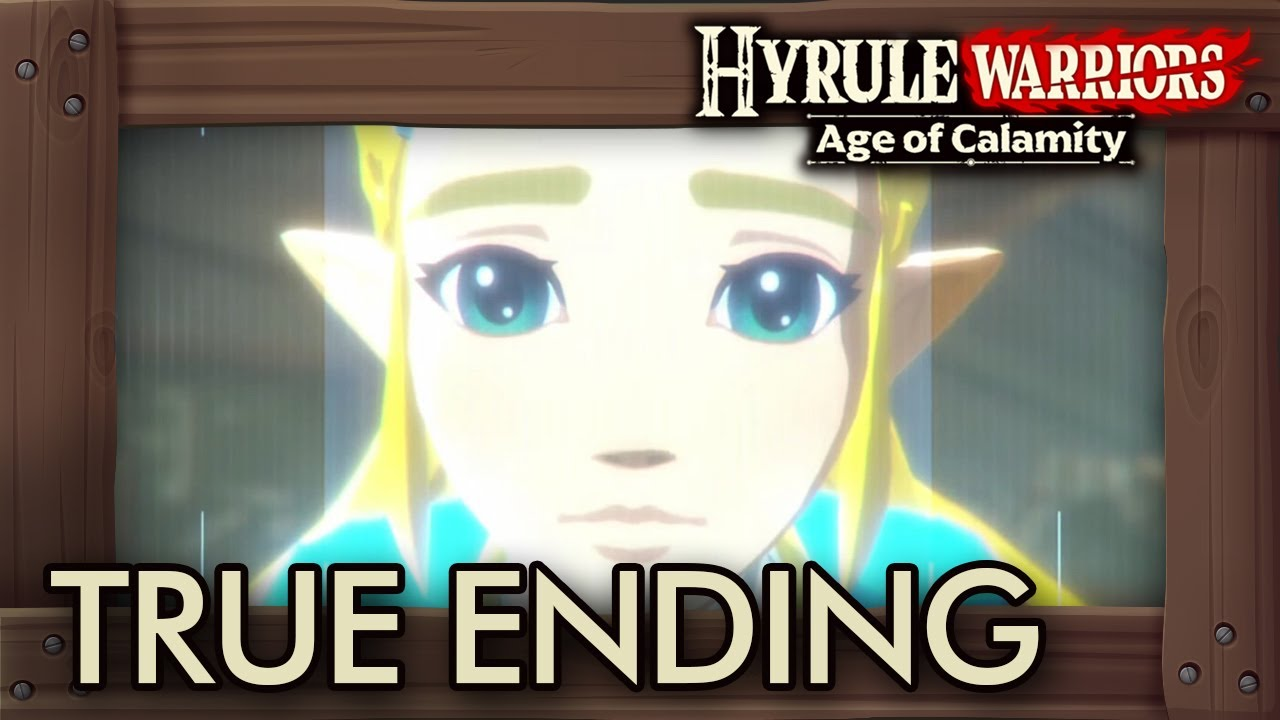 Hyrule Warriors Age Of Calamity Secret Ending Youtube