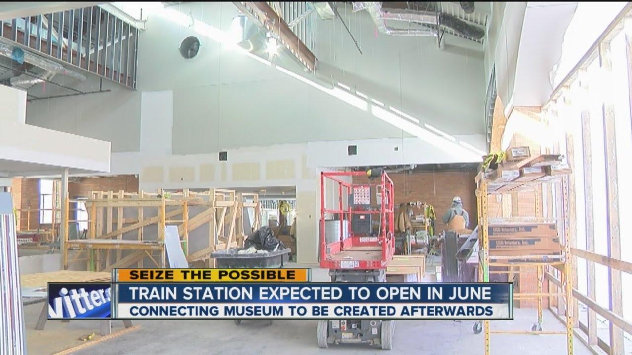 Inside Look At New Niagara Falls Train Station YouTube