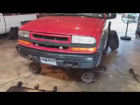 Chevy S10 Zr2 Control Arm Bushing Replacement Youtube