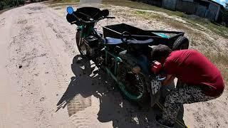 Урал с китайским мотором тащит жигули