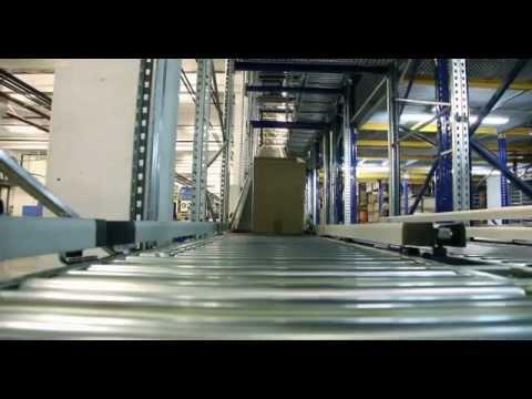 видео: Конвейер на складе комплектации заказов