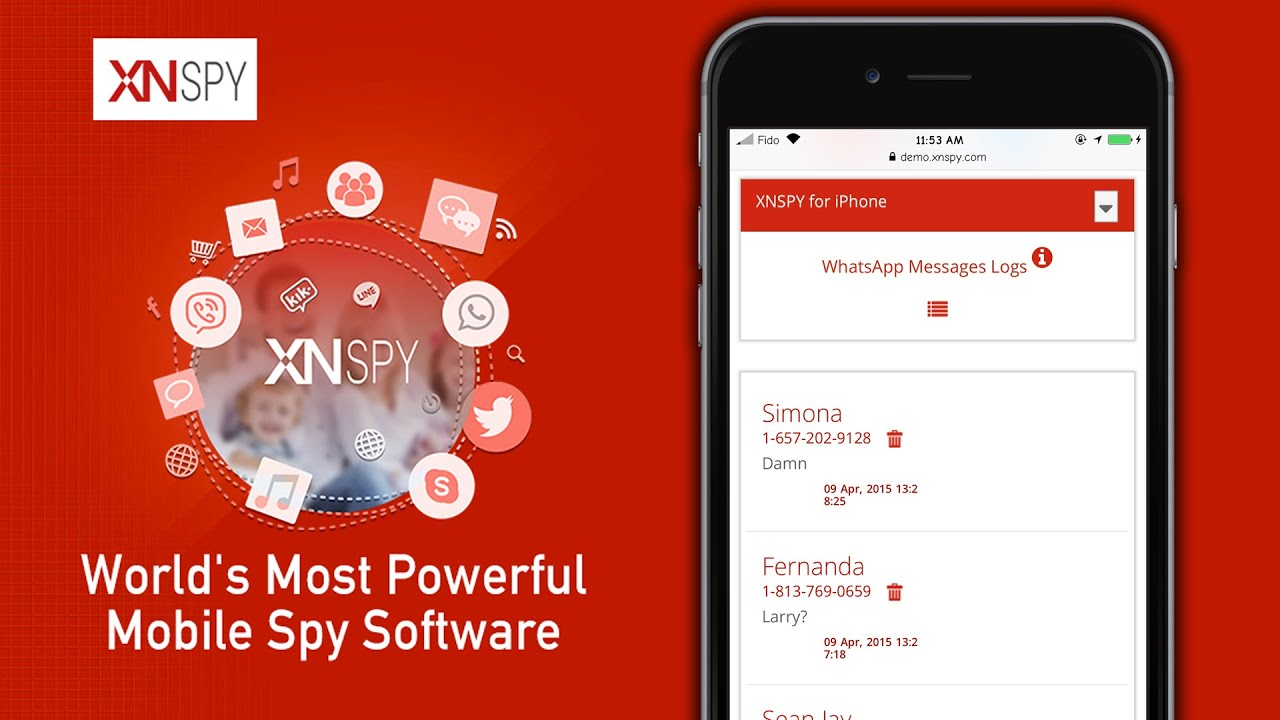 Best Spy Apps for iPhone - Spy on iPhone without jailbreak