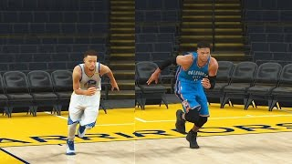 Who is the Fastest NBA Player? (NBA Point Guards) Stephen Curry vs Westbrook vs John Wall! NBA 2K18
