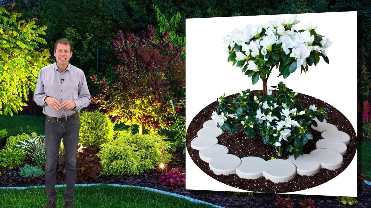 bordure plastique jardin et terrasse youtube. Black Bedroom Furniture Sets. Home Design Ideas
