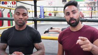 DENTON VASSELL; ON HIS COMEBACK ON 29TH JULY 2017