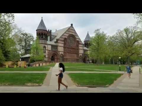 Walking in Princeton, New Jersey