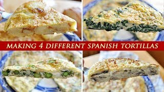 4 SPANISH Tortilla Omelettes YOU NEED IN YOUR LIFE