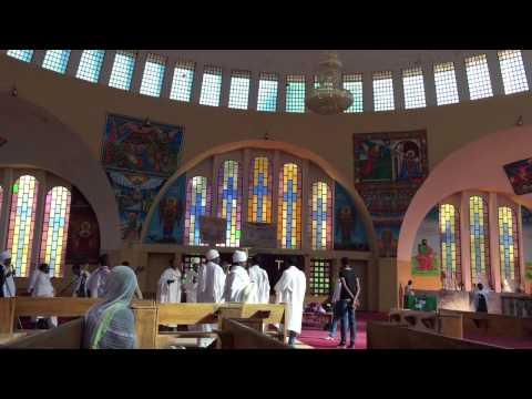 Church at St. Mary's Axum Ethiopia