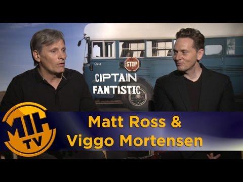 Viggo Mortensen and Matt Ross - 'Captain Fantastic'