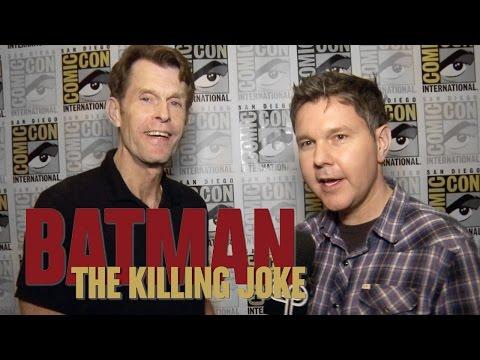 Batman: The Killing Joke - Comic-Con Interviews!
