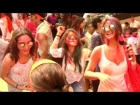 Tv Celebs GRAND HOLI Party 2018 Full Video HD