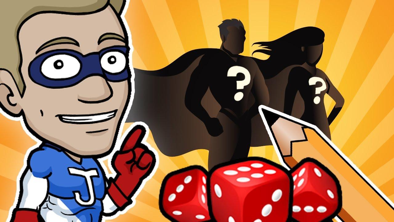 SUPERHERO TEAM - Random Character Design Challenge!