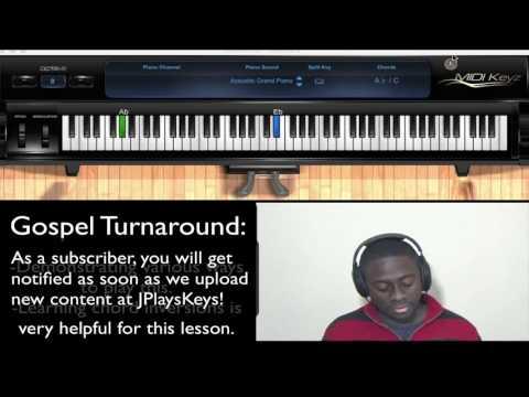 Gospel Piano: Traditional Church Turnaround in Eb