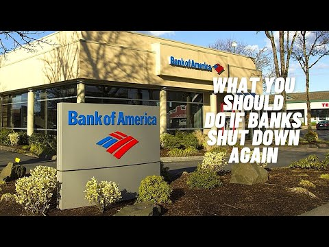 Bank systems have shut down, what measures you have in place?