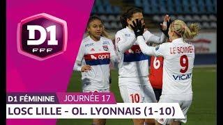 J17 : LOSC Lille - Olympique Lyonnais (1-10), le résumé