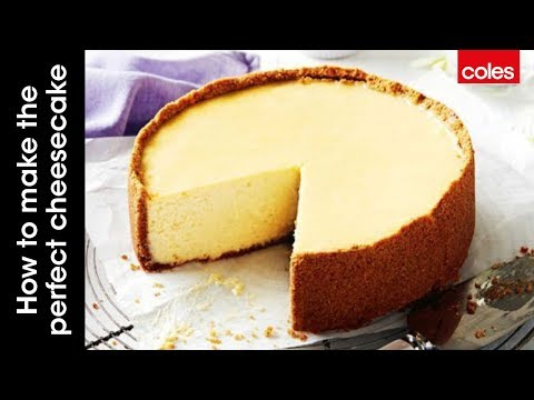 The Perfect Baked New York Cheesecake