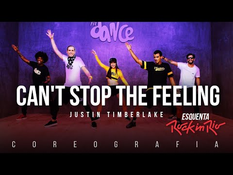 Cant Stop The Feeling  Justin Timberlake  FitDance TV  Esquenta Rock in Rio 2017  Dance
