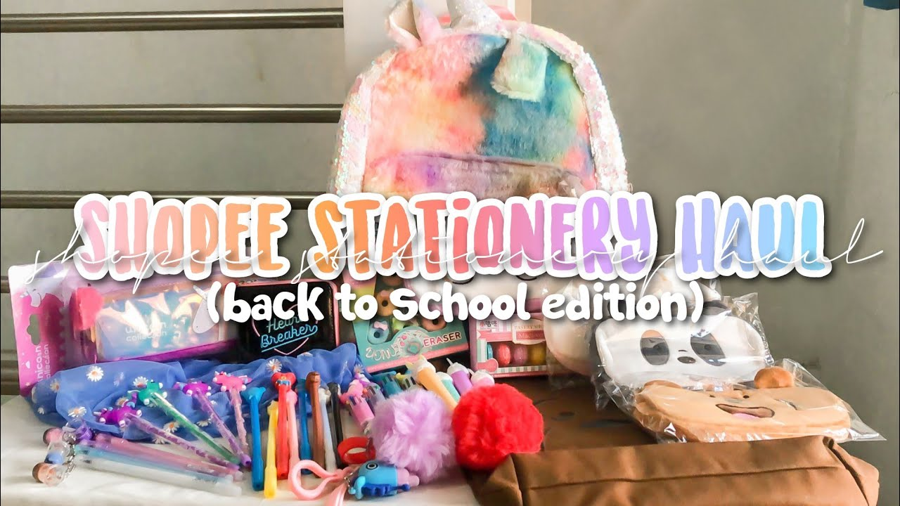 Shopee Stationery Haul | Back to School Edition