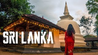 ELEPHANTS AND TEMPLES | Sri Lanka Travel Vlog