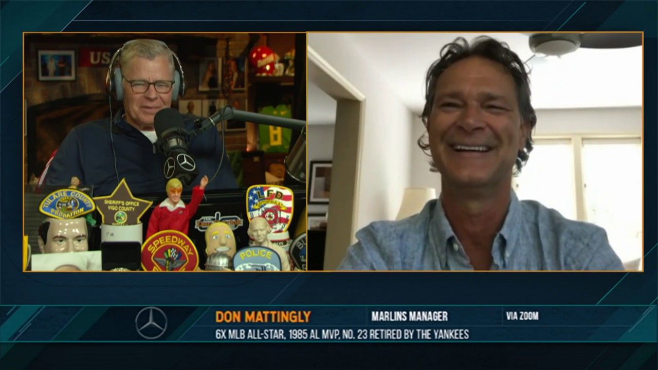 Don Mattingly on the Dan Patrick Show (Full Interview) 07/02/20