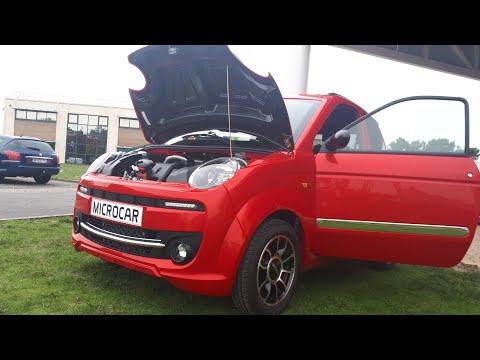 Mini Moped Microcar M Go Diesel Cantara Sounds No C