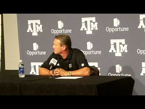 Mark Snyder Fall Camp Press Conference