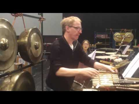 "Muhammad Arham Aryadi ""Ruang Suara""-Latihan Perkusi-Frankfurt LAB"