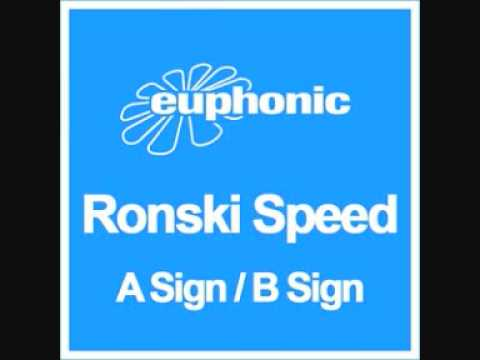 new Ronski Speed single