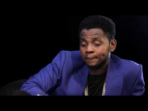 Everyone wants to kiss me because my name is Kiss Daniel on The Bigger Friday Show