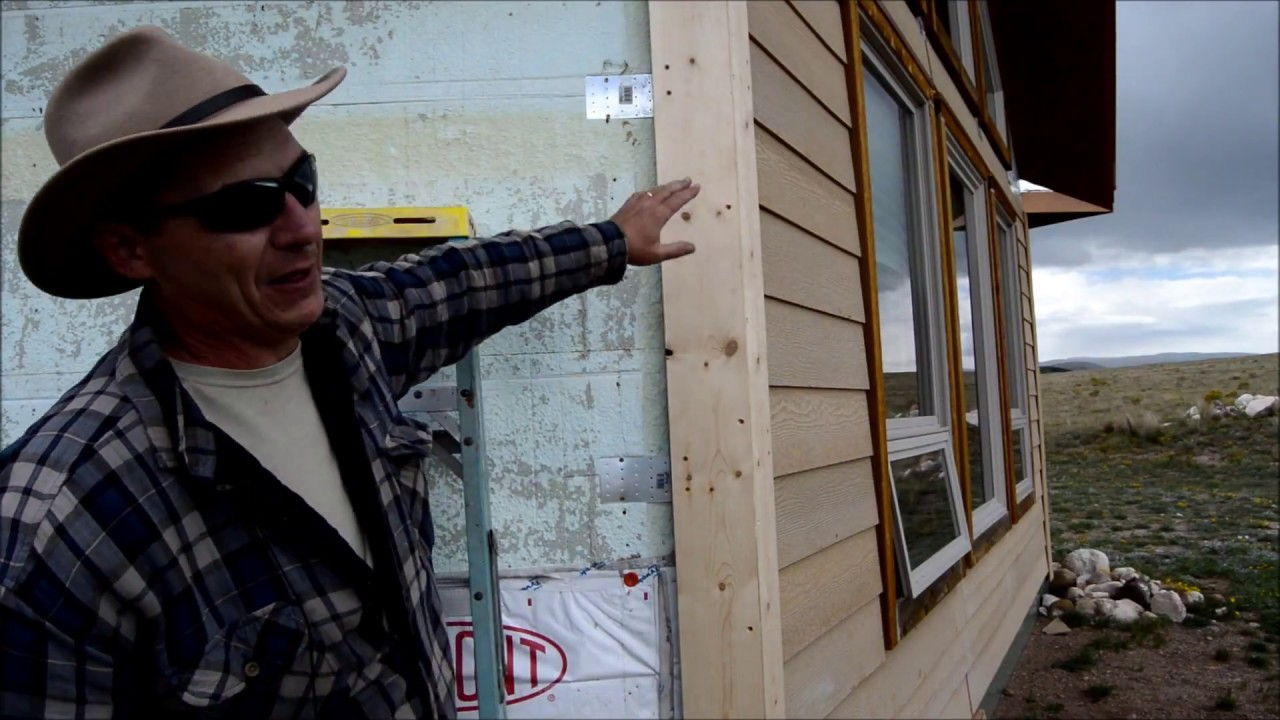 Install Hardie Board Hardieplank Siding on ICF - Attaching