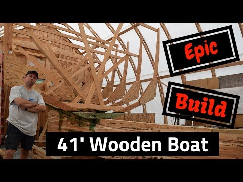 Backyard Boat Building: Frames, Rabbet and bolts.  SDP #31