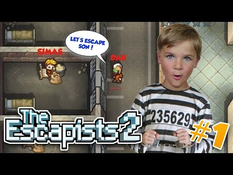IN THE PRISON WITH MY DAD! THE ESCAPISTS 2 (xbox one multiplayer)