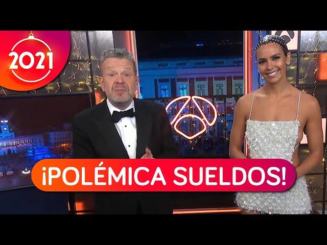 Polémica por la diferencia salarial entre Cristina Pedroche y Alberto Chicote en las Campanadas 2021