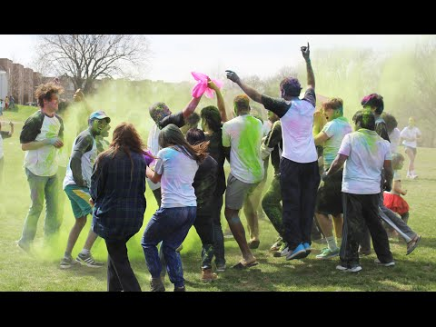 2016 Holi Festival at Missouri Western State University