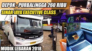 Mudik Naik BUS SINAR JAYA Terbaru - Sinar Jaya Jetbus 3 SHD