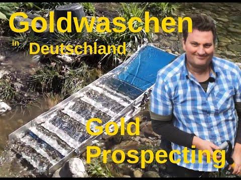 Goldschürfen in Bayern