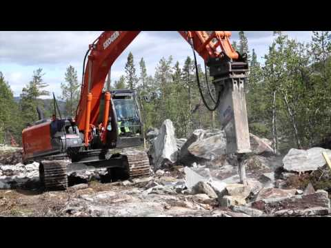 Hitachi excavators meeting every challenge in Norway