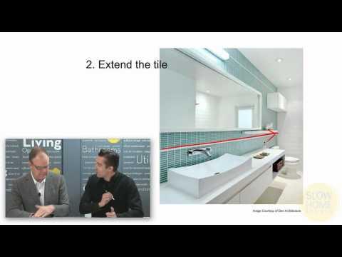 3 Design Tips To Improve a Standard Bathroom
