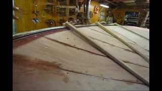 Steam Bending Mahogany Garboard Plank on Boat (Preview) Wooden Boat Restoration