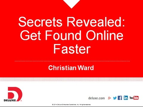 Webinar: Get Listed and Found Faster Online