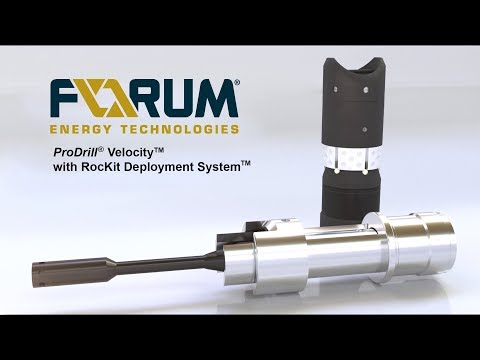 ProDrill® Velocity™ Frac plug with RocKit Deployment System