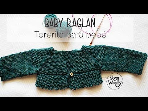 Cómo tejer una chaqueta Raglan [Top Down] en dos agujas PARTE I thumbnail