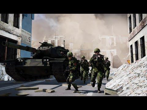 Great Battle of Taiwan - Modern Chinese Civil War, China vs Taiwan, WW3 Clip #movieclip