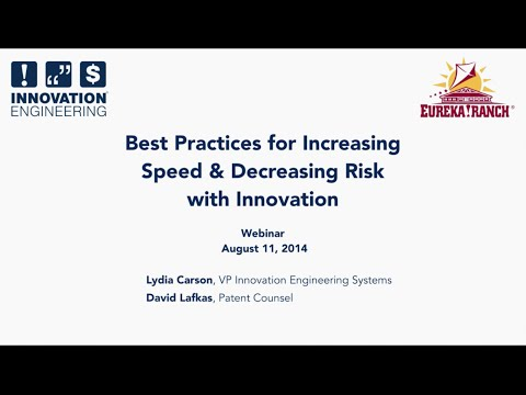 Increasing Speed and Decreasing Risk with Innovation