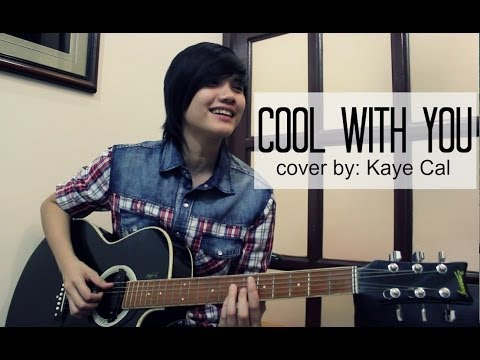 Cool With You - Jennifer Love Hewitt (KAYE CAL Acoustic Cover)