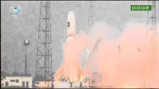 First Soyuz launch from Guiana Space Center