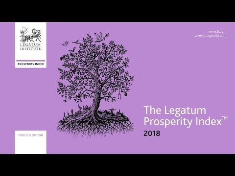 2018 Legatum Prosperity Index