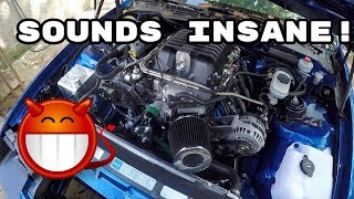 First Start with the Supercharger! | LSA Blower Swap