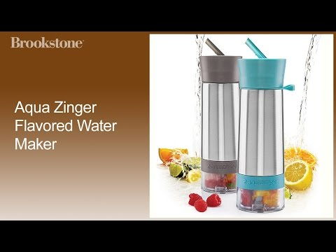 Aqua Zinger Flavored Water Maker How to Use